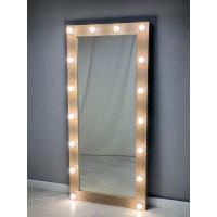 Гримерное зеркало с подсветкой 175х80 дуб
