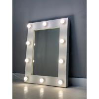 Гримерное зеркало с подсветкой 80х60 см 12 ламп